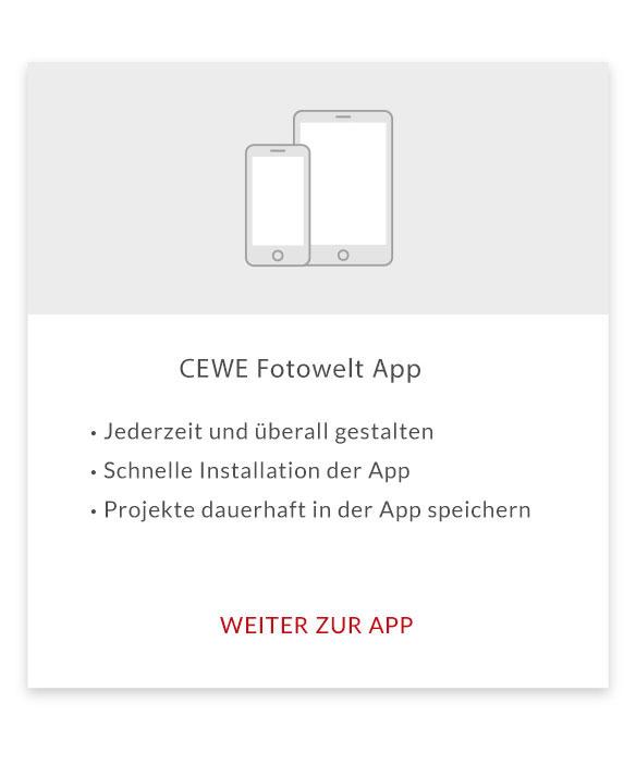 CEWE Fotowelt App Teaser