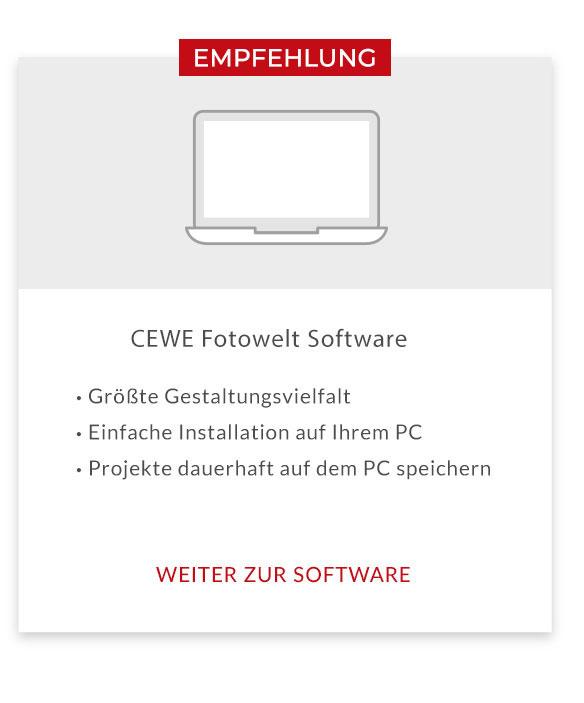 CEWE Fotowelt Software Teaserbild
