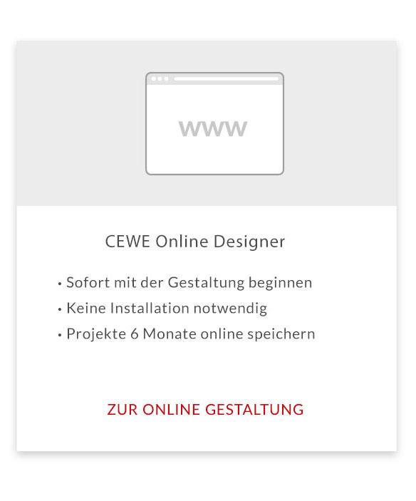 CEWE Online Designer Teaserbild