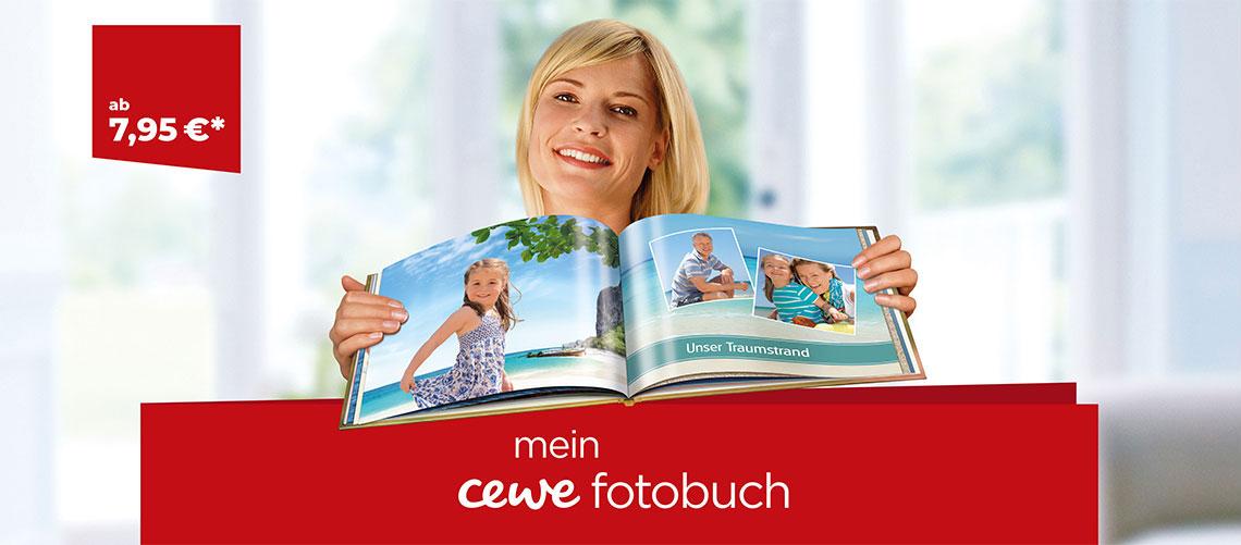 CEWE Fotobuch Mobiles Headerbild